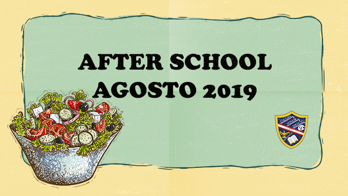 AFTER SCHOOL - AGOSTO 2019